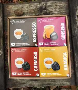 Nescafe Dolce Gusto Selection Set - Coffees and Ginseng