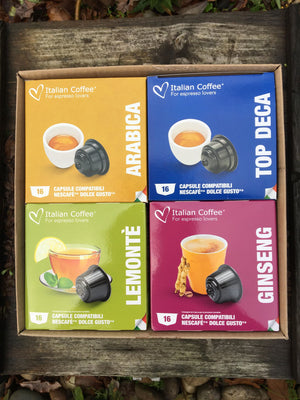 Nescafe Dolce Gusto Selection Set - Something for everyone!