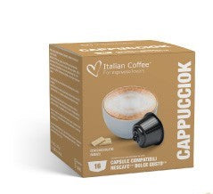 Nescafé Dolce Gusto compatible Cappucciok (Cappuccino with WHITE CHOCOLATE)