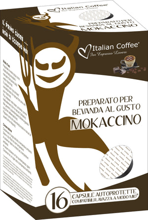 A Modo Mio Compatible: Mokaccino - Coffee & Chocolate Drink