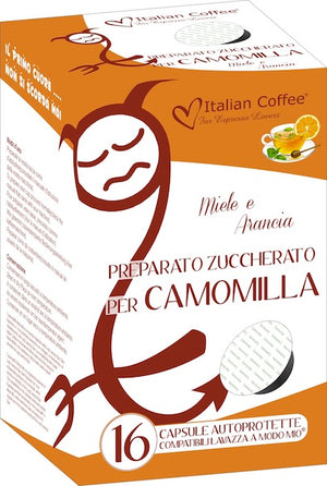 Lavazza A Modo Mio Compatible: Camomilla - Honey & Orange