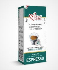 Nespresso Compatible: Espresso in compostable pods