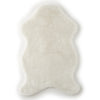 Faux Fur Throw - White