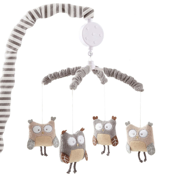 Night Owl Musical Mobile - Grey