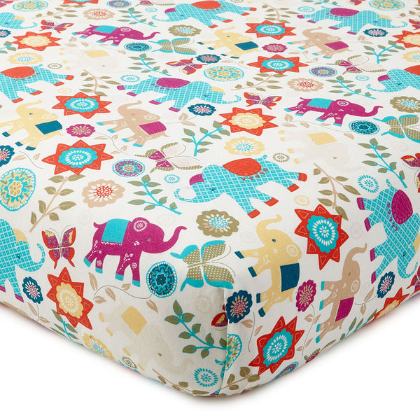 Zahara Crib Fitted Sheet