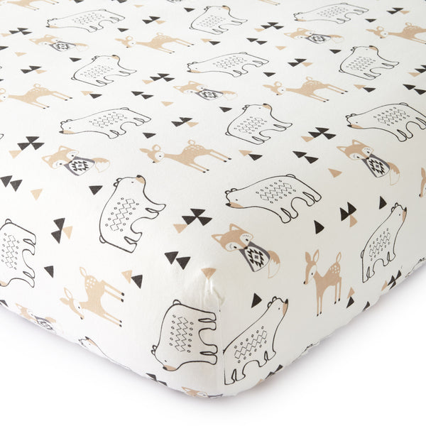 Bailey Mini Crib Fitted Sheet
