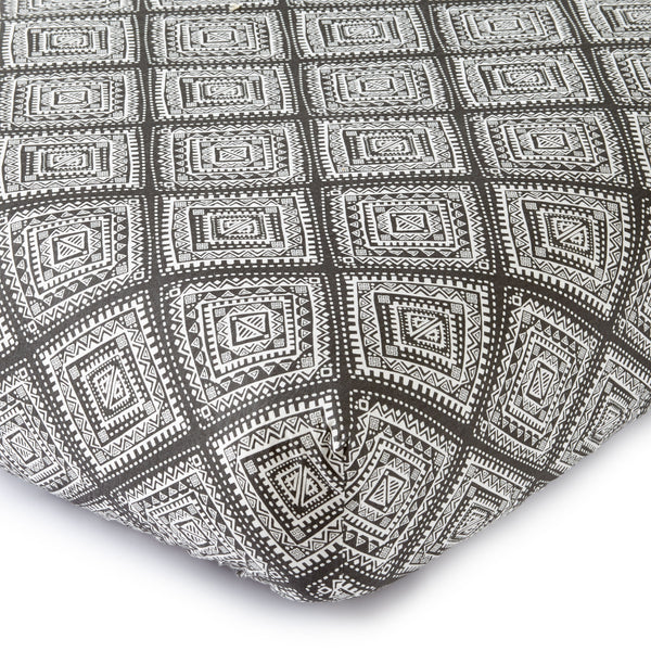 Bailey Geo Tribal Crib Fitted Sheet