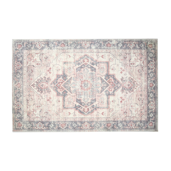 Heritage Blush Medallion Rug