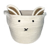 White Bunny Rope Storage
