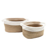 Natural White Rope Storage 2pk