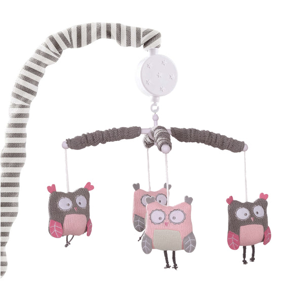 Night Owl Musical Mobile - Pink
