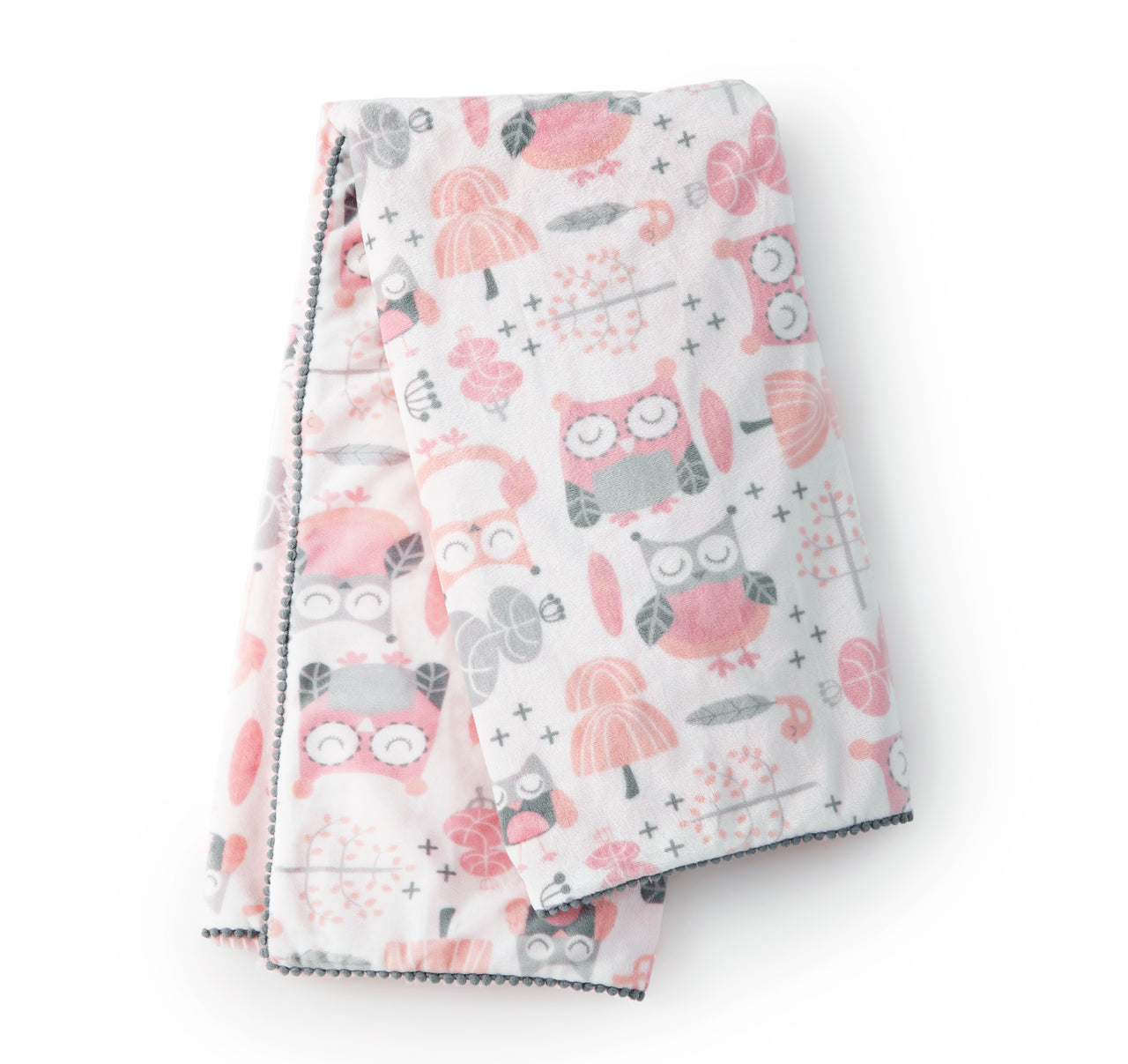 Night Owl Blanket - Pink