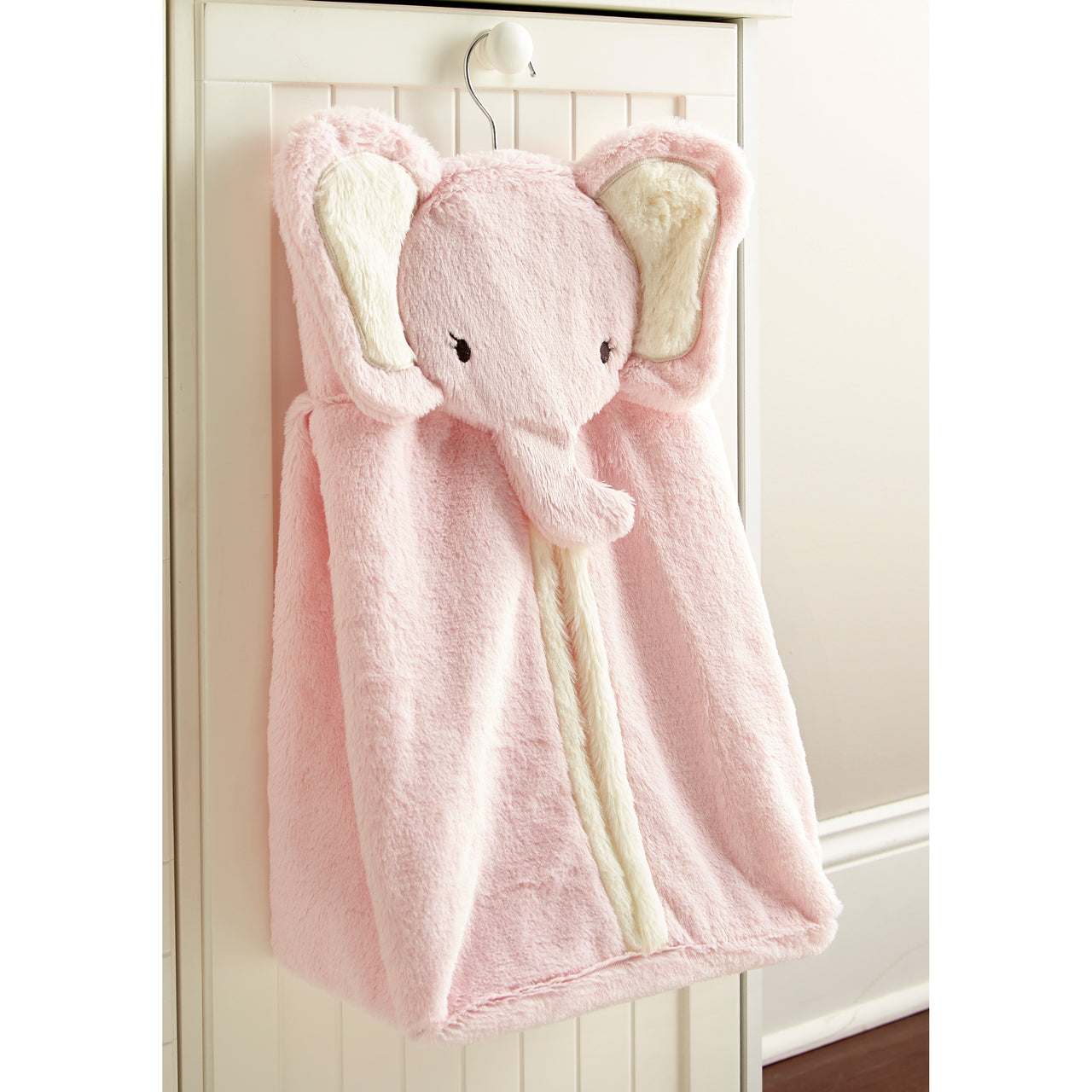 Pink Elephant Diaper Stacker