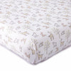 Skylar Blush Woodland Fitted Crib Sheet