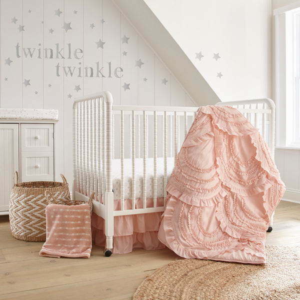 Skylar 4pc Bedding Set-Blush