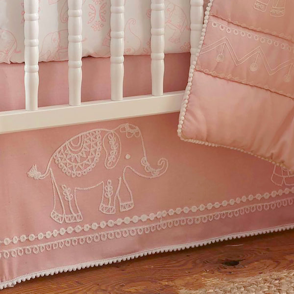 Levtex Baby Ely 5pc Bedding Set Pink