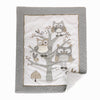 Night Owl 5PC Bedding Set - Grey