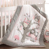 Night Owl 5PC Bedding Set - Pink