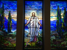 Load image into Gallery viewer, Stained Glass Greeting Card - Christ