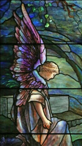 Stained Glass Greeting Card - Saint John's Church Franklin, PA