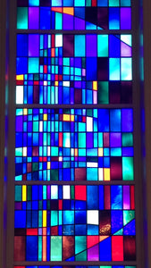 Stained Glass Window Greeting Card - St. Francis of Assisi Church #3