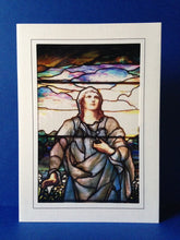 Load image into Gallery viewer, Stained Glass Greeting Card - He Has Risen 1