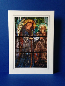 Stained Glass Greeting Card - Second Presbyterian Church Chicago