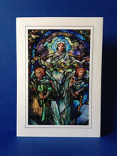 Load image into Gallery viewer, Stained Glass Greeting Card - Corning Museum of Glass, New York