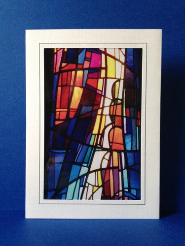 Stained Glass Greeting Card 1 - Church of The Covenant Cleveland, Ohio