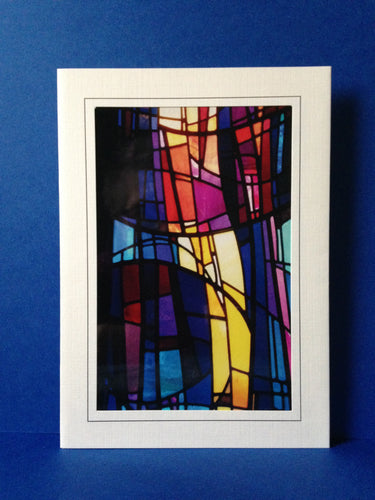 Stained Glass Greeting Card 2 - Church of The Covenant Cleveland, Ohio