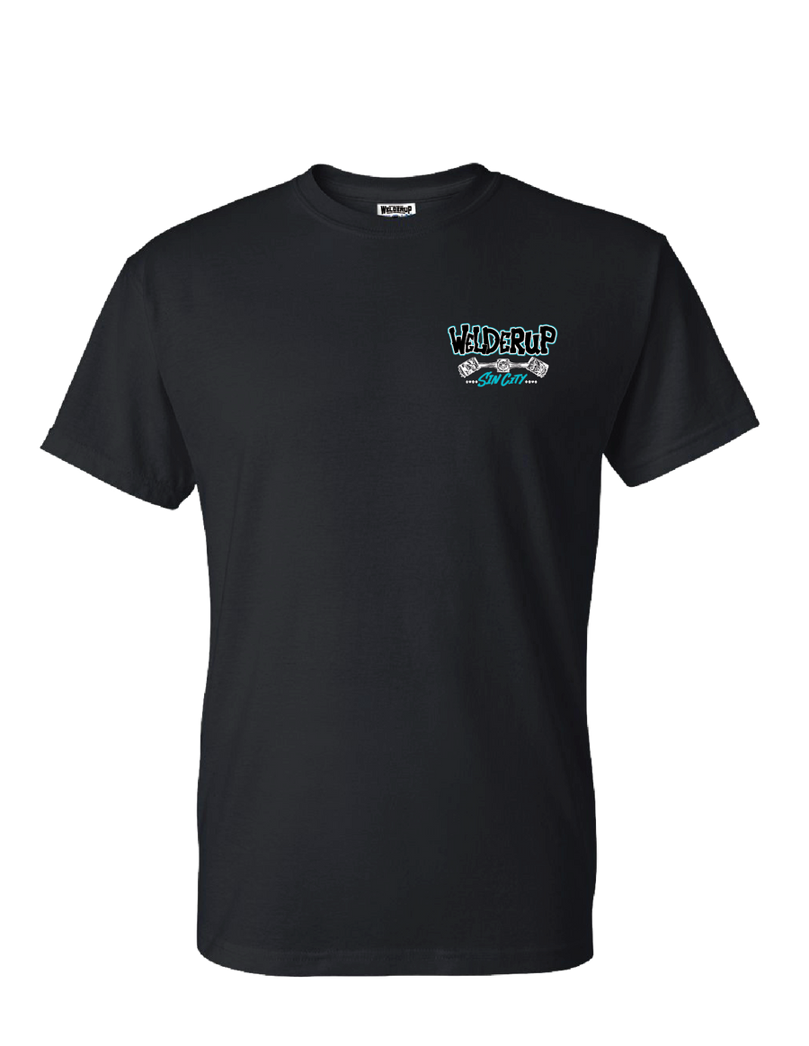 Welder Up 55' Gasser Black T-Shirt