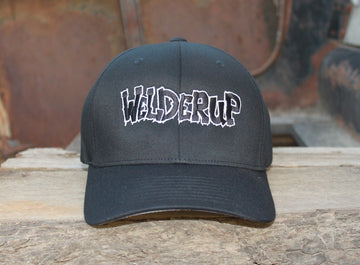 Welder Up Logo Flexfit Cap in Black