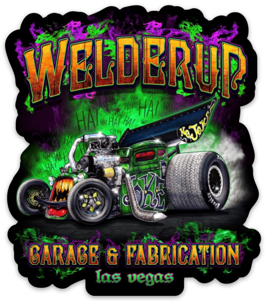 WelderUp Joker Sticker