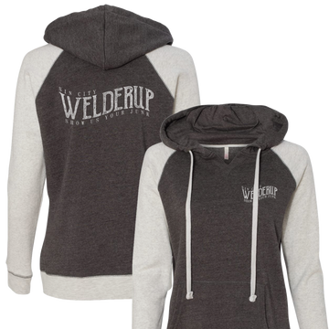 Ladies Welder Up Logo Pullover Hoodie