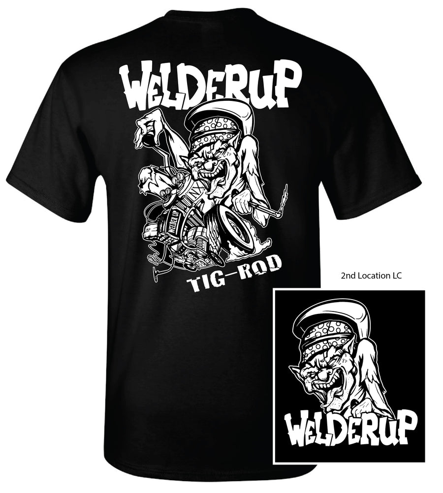 Welder Up TIG Rod Black T-Shirt