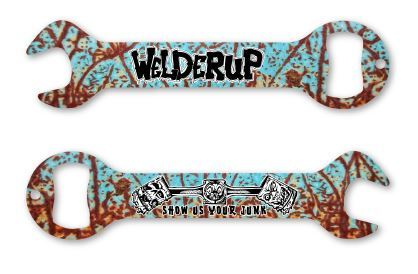 Welder Up - Rusty Wrench Bottle Opener