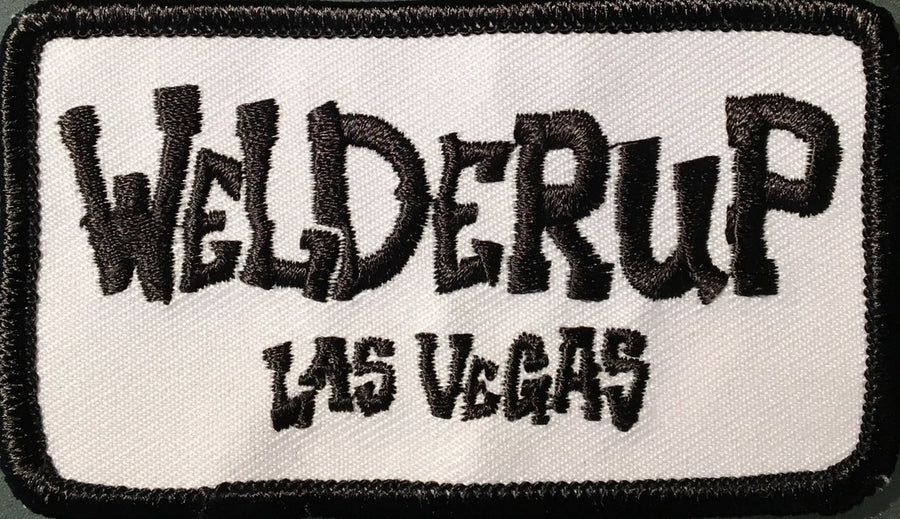 WelderUp Sew On/Iron On Patch