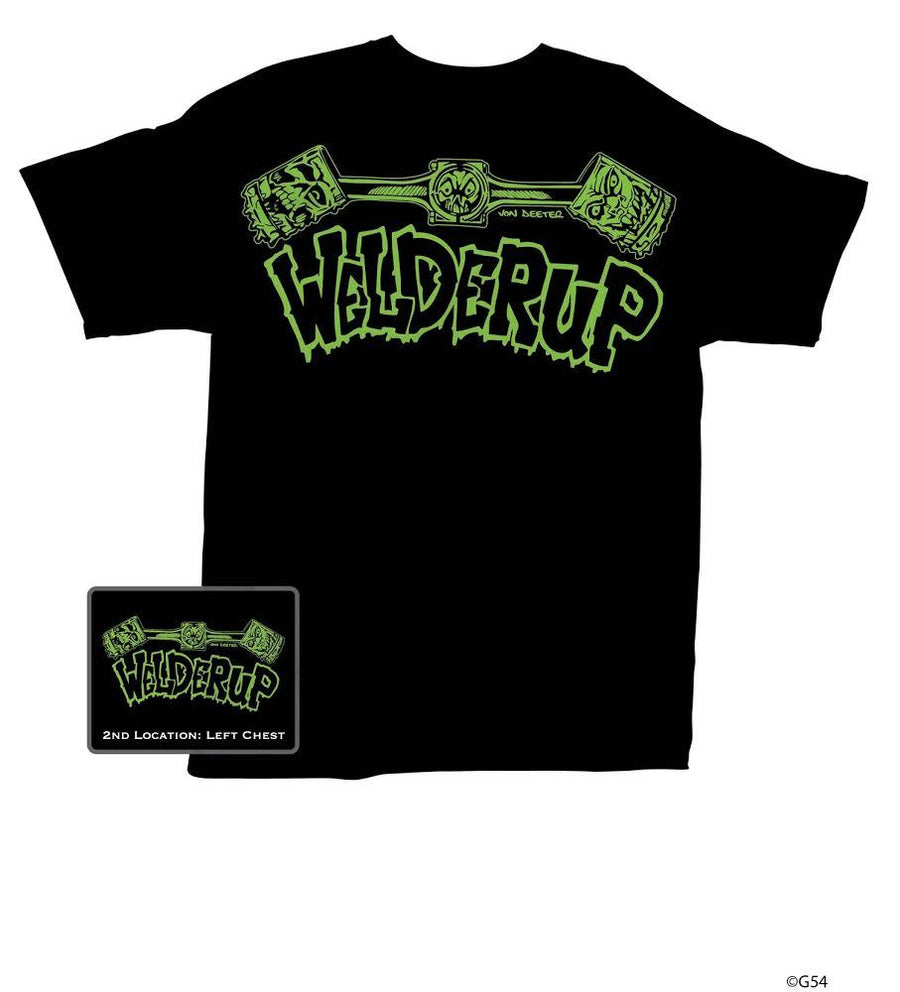 Welder Up Green Logo T-Shirt