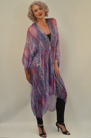 Silk Long Top Kaftan