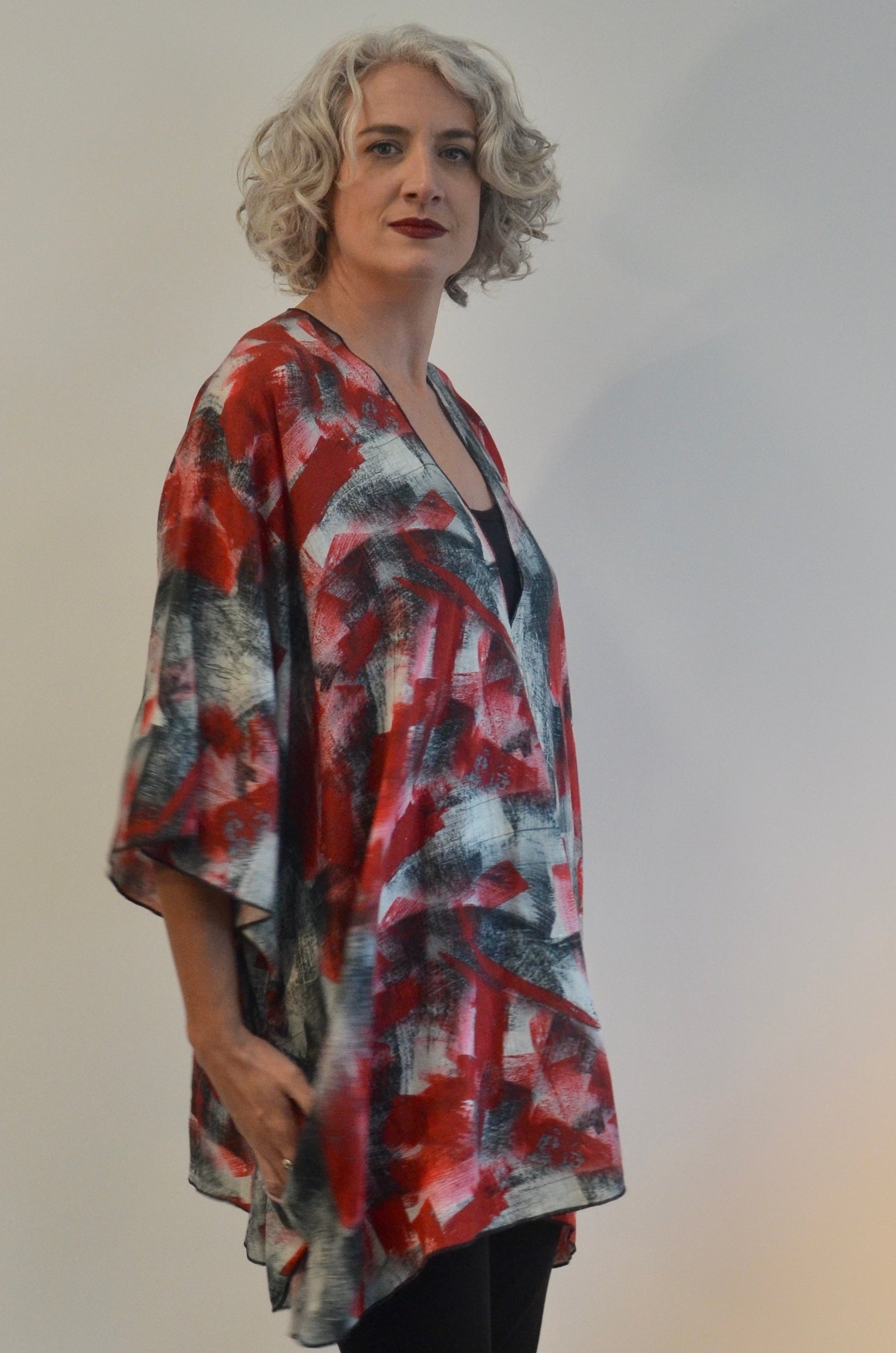 SALE Top in Linen with pockets