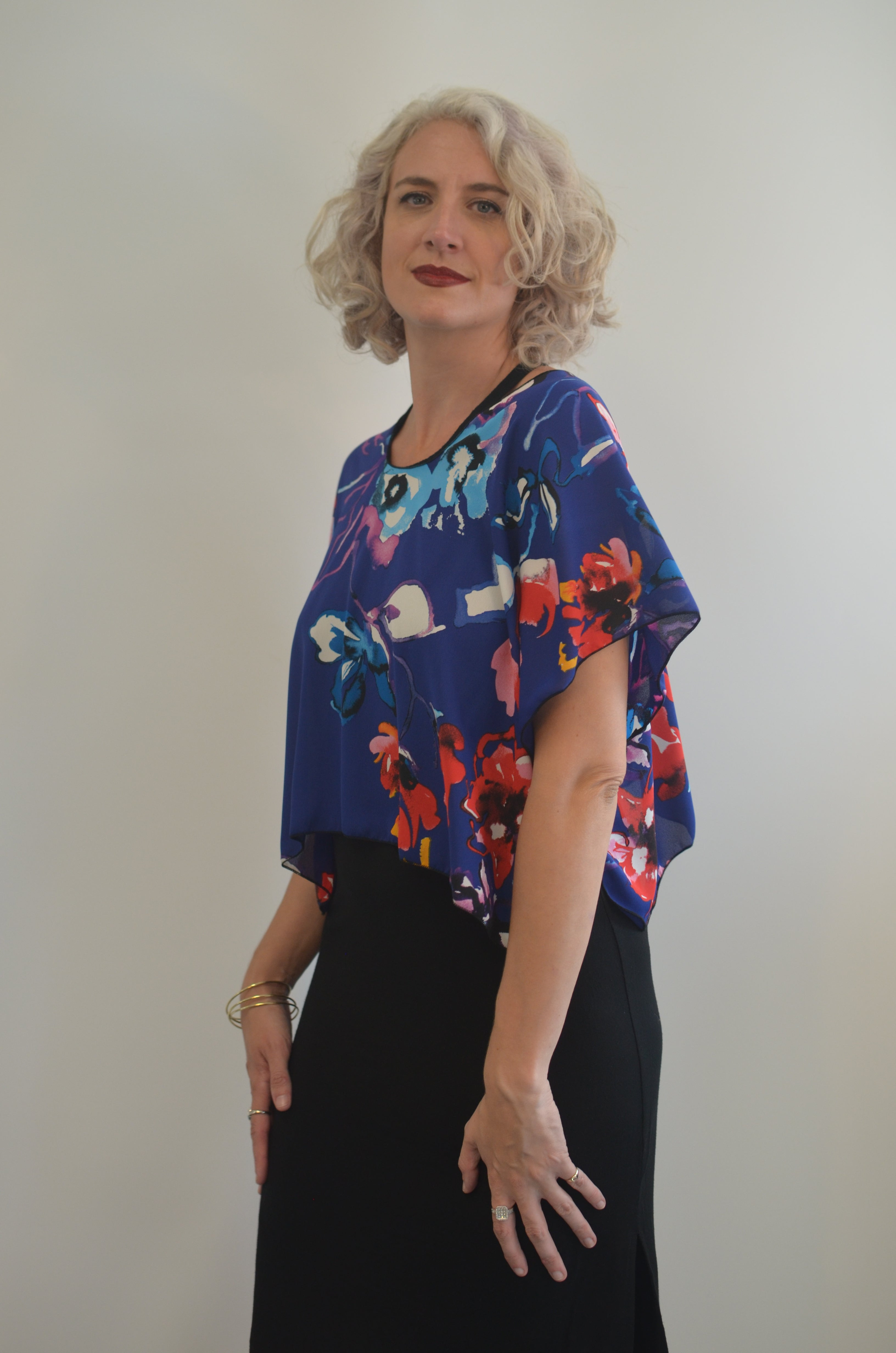 Flowered Top
