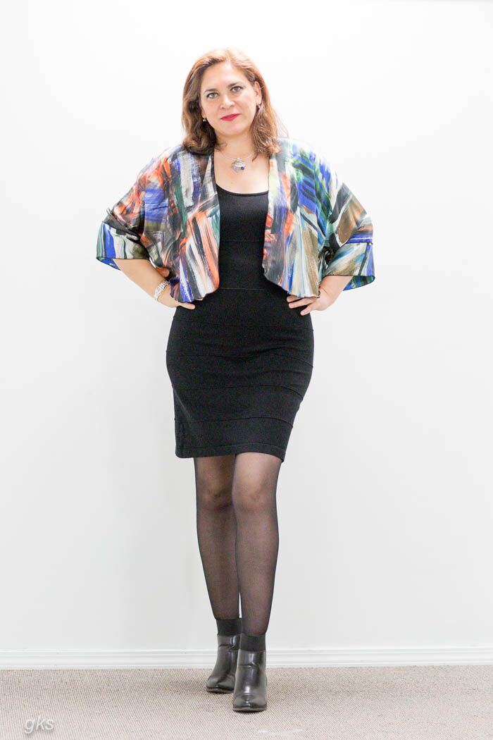 Silk Jacket Short