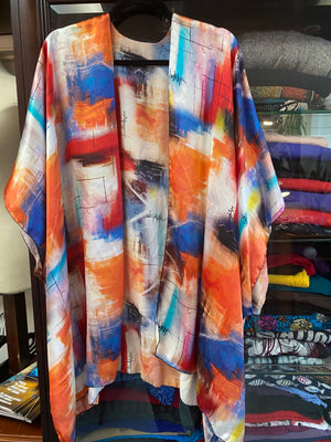 Colourful Silk Jacket
