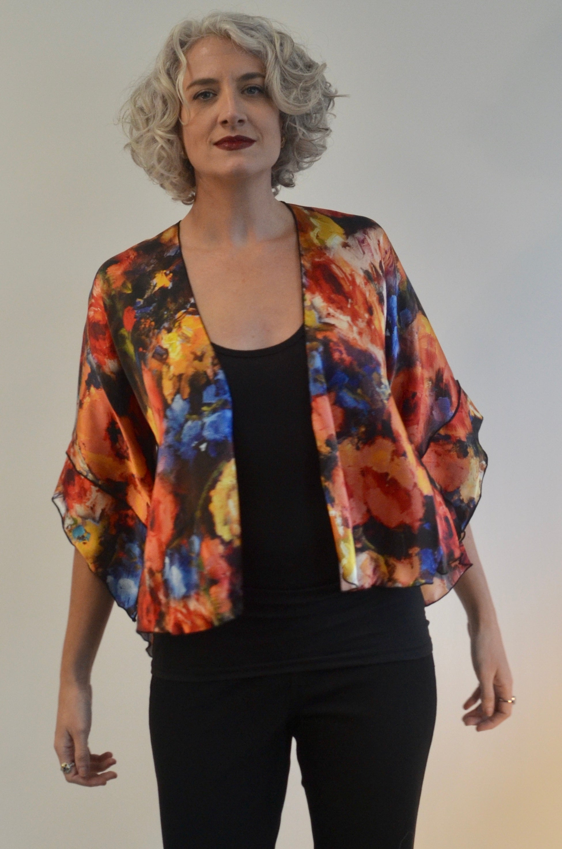 Small Silk Jacket