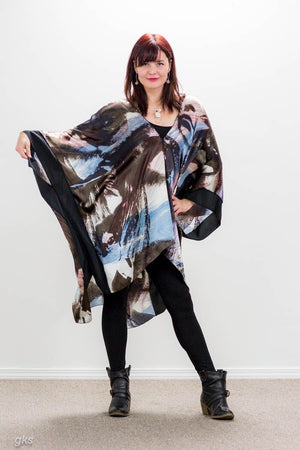 One Of A Kind Tunic in Silk