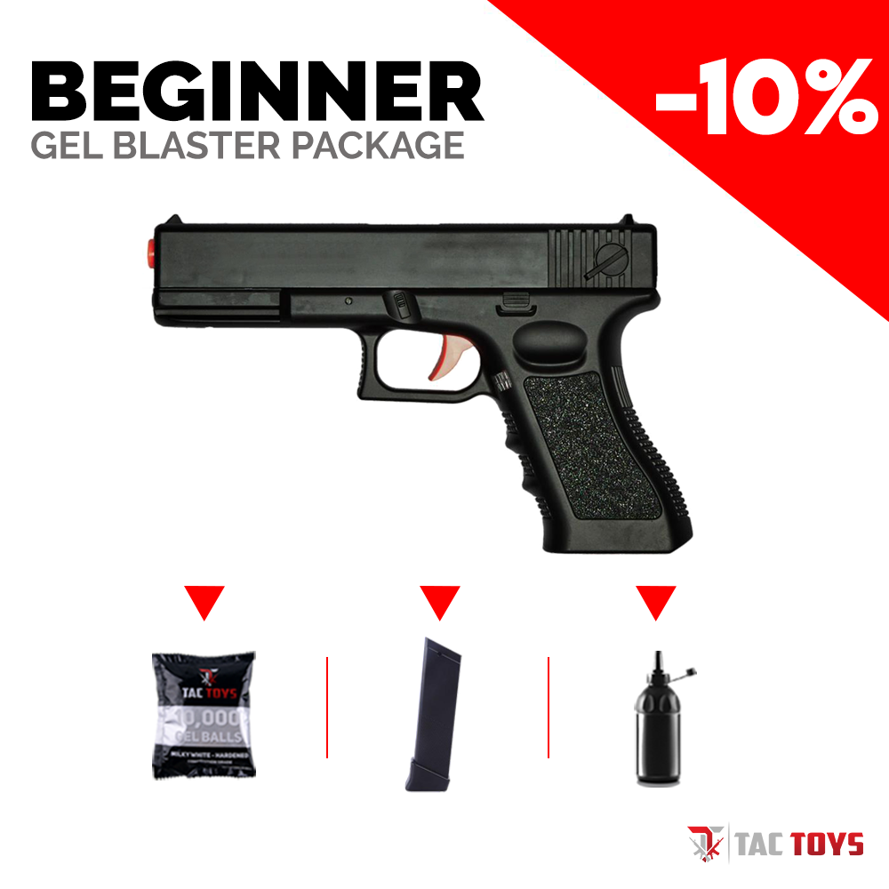 SKD GLOCK 18 - Gel Blaster (BEGINNER PACK)
