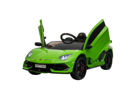 Lamborghini Aventador SVJ - Ride on Car Kids Toy *Licensed & Genuine* (Green)