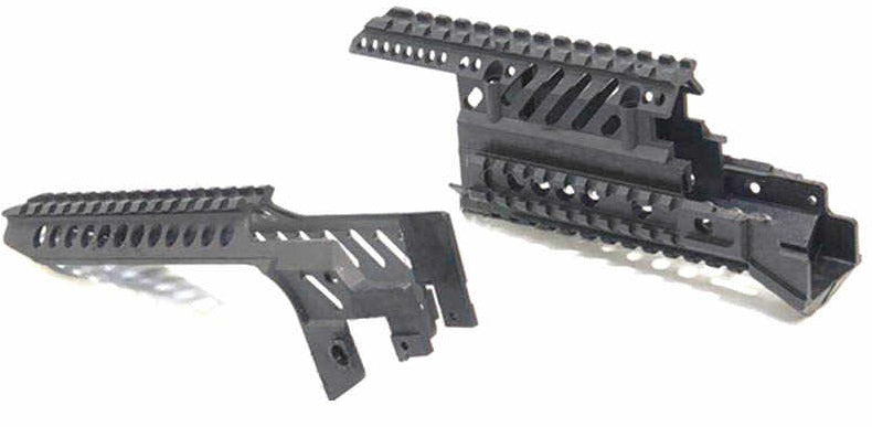 Front Hand Guard/ Top Rail with Picatinny Rails for AK J11
