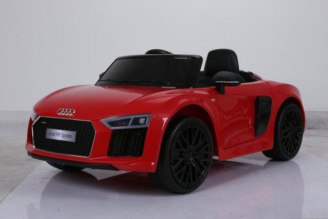 Audi R8 V10 Spyder- Ride on Car Kids Toy *Licensed & Genuine* (Red)