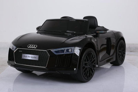 Audi R8 V10 Spyder- Ride on Car Kids Toy *Licensed & Genuine* (Black)